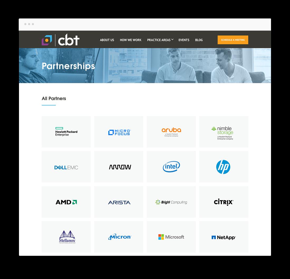 cbt partnership we designs