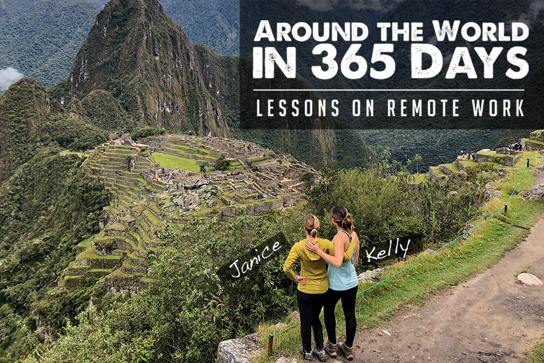 working remote around the world in 365 days