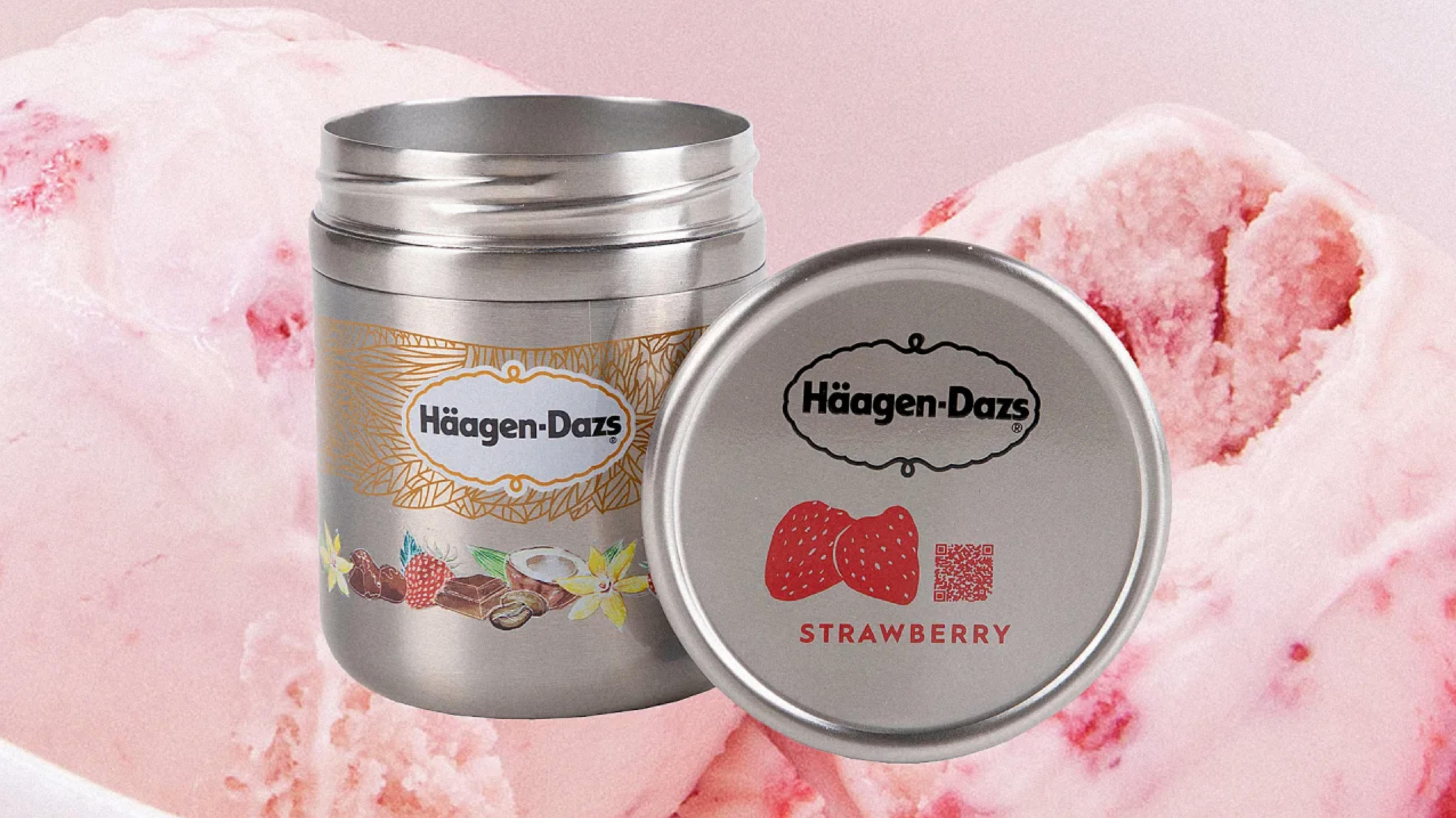 haagen dazs reusable packaging design