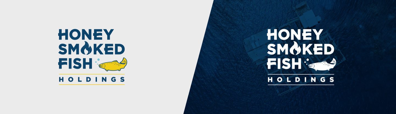logo design for honey smoked fish holdings