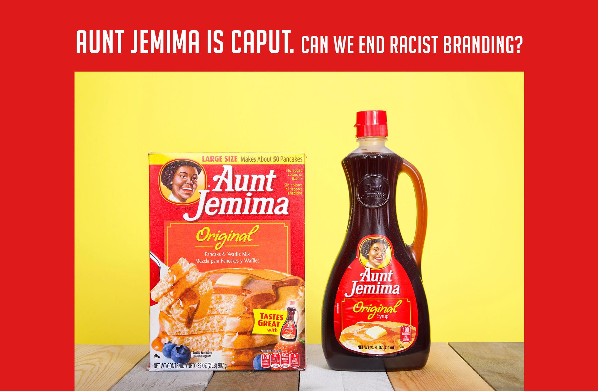 aunt jemima rebrand images