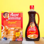 aunt jemima pancake mix and syrup
